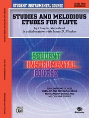 Student Instrumental Course: Studies and Melodious Etudes for Flute, Level II