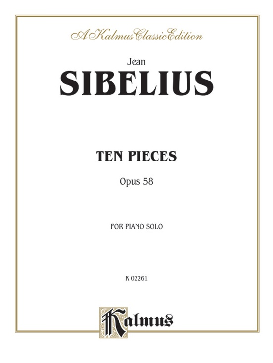 Ten Pieces, Opus 58
