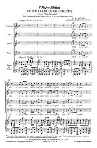 Hallelujah Chorus in C Major