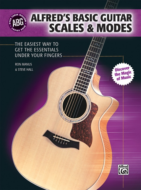 Alfred's Basic Guitar Scales & Modes