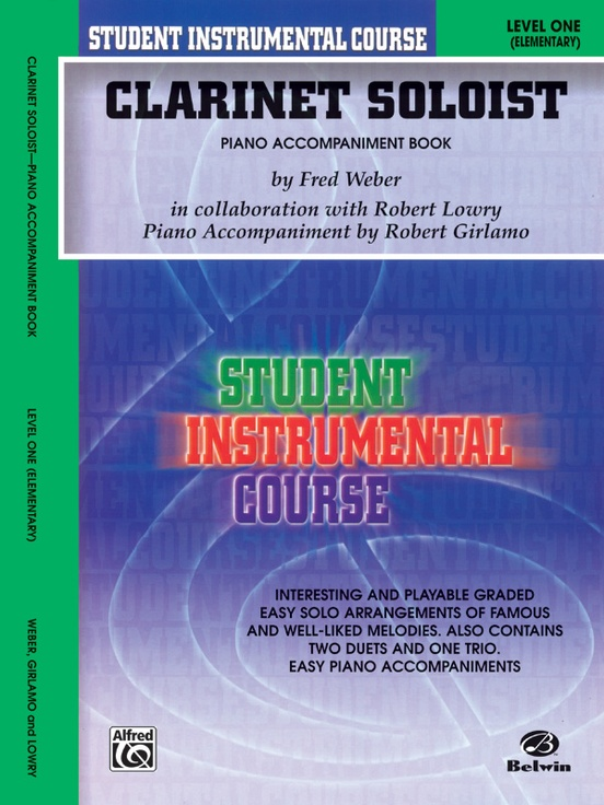 Student Instrumental Course: Clarinet Soloist, Level I