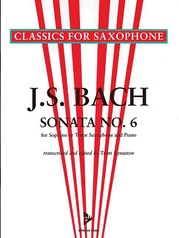 Sonata No. 6 A Major BWV 1035