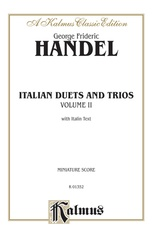 Italian Duets and Trios, Volume II