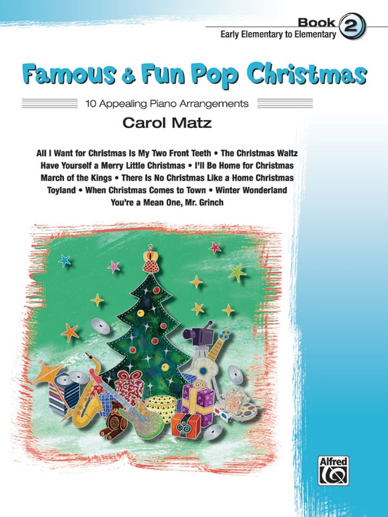 Famous & Fun Pop Christmas, Book 2