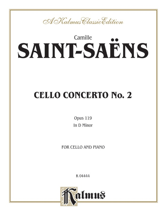 Cello Concerto No. 2, Opus 119