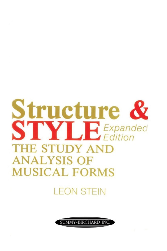 Anthology of Musical Forms: Structure & Style (Expanded Edition)