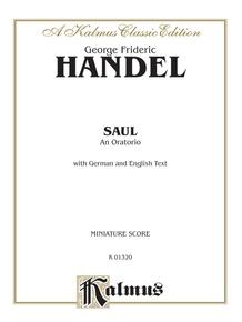 Saul (1739), An Oratorio