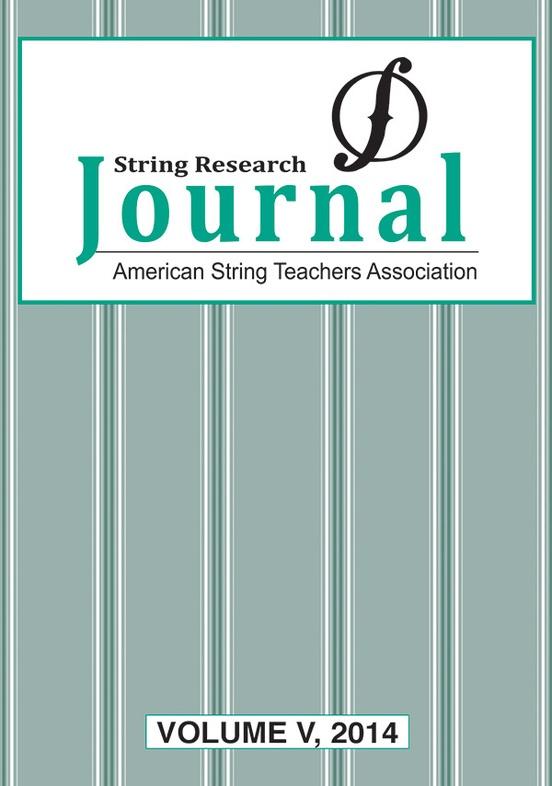 String Research Journal: Volume V, 2014