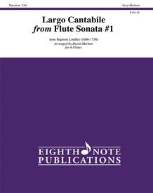 Largo Cantabile from Flute Sonata #1