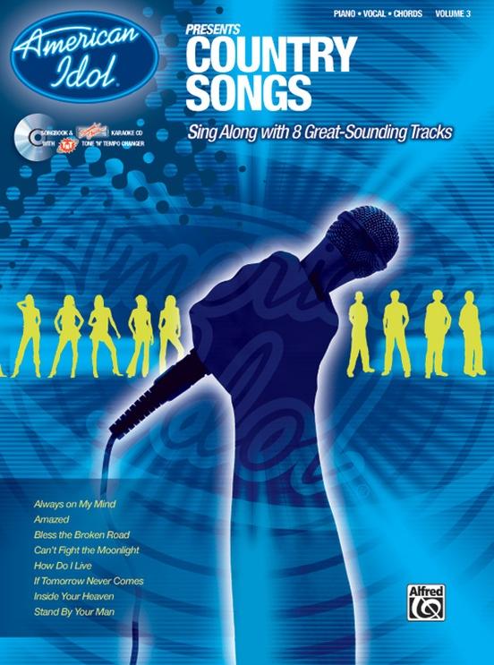 American Idol Presents Volume 3 Country Songs