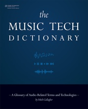 The Music Tech Dictionary