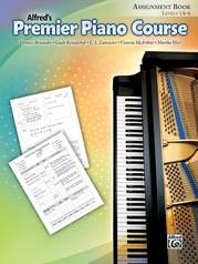 Premier Piano Course, Assignment Book
