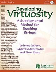 Developing Virtuosity bk. 3 - Violin