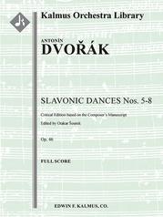 Slavic Dances Op. 46 Nos. 5-8, critical edition