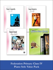 Federation Primary Class IV Piano Solo (Value Pack)