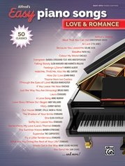 Alfred's Easy Piano Songs: Love & Romance