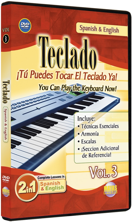 2 in 1 Bilingual: Teclado Vol. 3