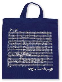Tote Bag: Mozart (Navy)
