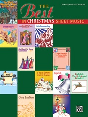 The Best in Christmas Sheet Music