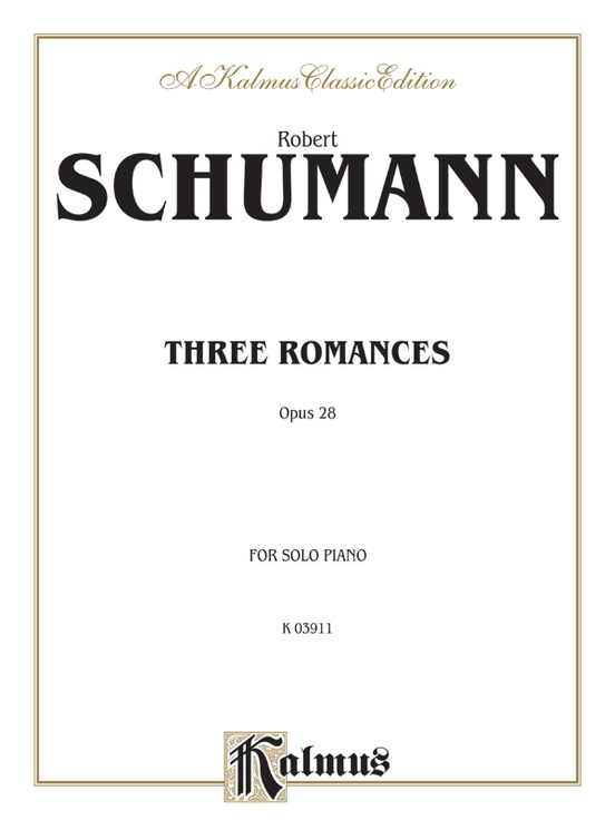 Three Romances, Opus 28
