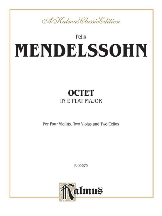 String Octet in E-flat Major, Opus 20