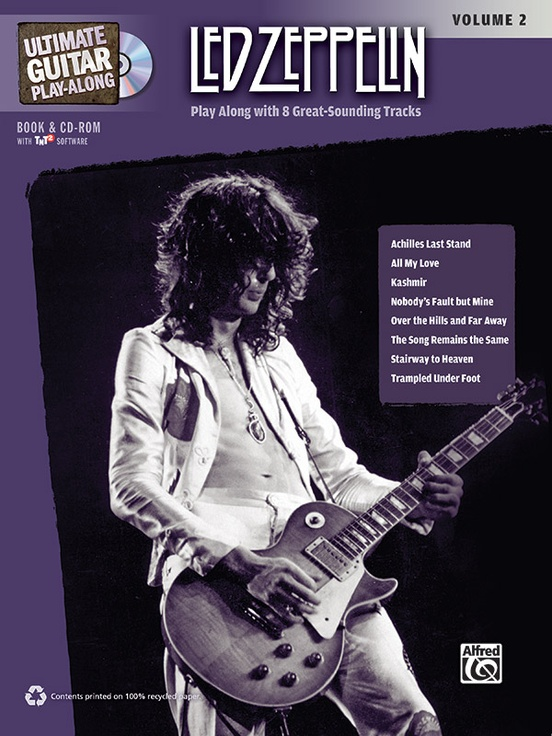 Ultimate Guitar Play Along Led Zeppelin Volume 2 Guitar Authentic