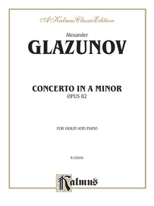 Concerto in A Minor, Opus 82