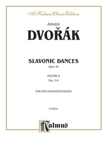 Slavonic Dances, Opus 46, Volume II