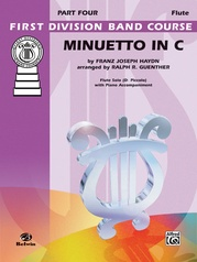 Minuetto in C