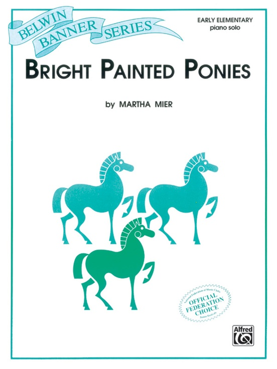 Bright Painted Ponies