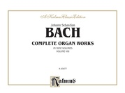 Complete Organ Works, Volume VIII