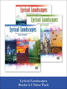 Lyrical Landscapes, Books 1-3
