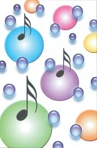 Schaum Recital Programs (Blank) #68: Notes and Bubbles