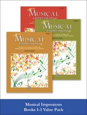 Musical Impressions 1-3 (Value Pack)