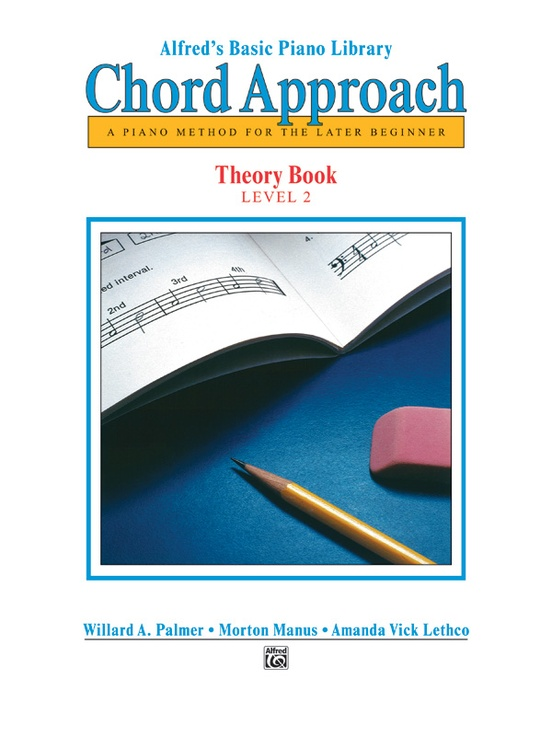 Alfreds Basic Piano Chord Approach Theory Book 2 Piano Book