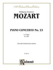 Piano Concerto No. 23 in A, K. 488