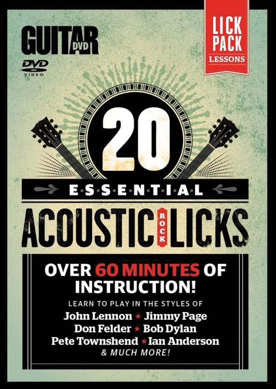 Guitar World: 20 Essential Acoustic Rock Licks