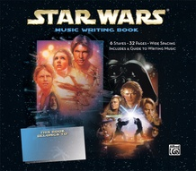 Star Wars Music Writing Book