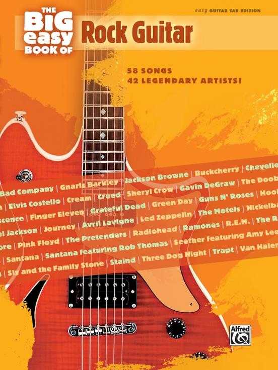 The Big Easy Book of Rock Guitar