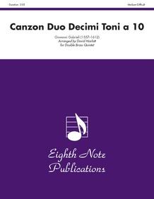 Canzon Duo Decimi Toni a 10