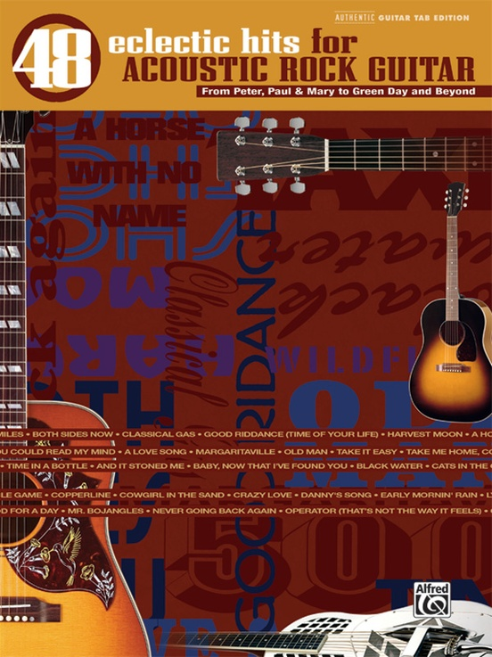 48 Eclectic Hits for Acoustic Rock Guitar