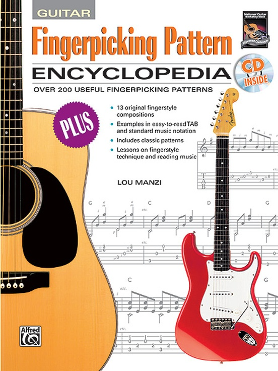Fingerpicking Pattern Encyclopedia Guitar Book CD Custom Fingerpicking Patterns