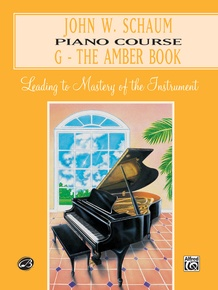 John W. Schaum Piano Course, G: The Amber Book