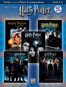 <i>Harry Potter</i>™ Instrumental Solos for Strings (Movies 1-5)
