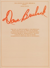 The Genius of Dave Brubeck, Book 1