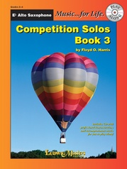 Competition Solos, Book 3 Alto Sax