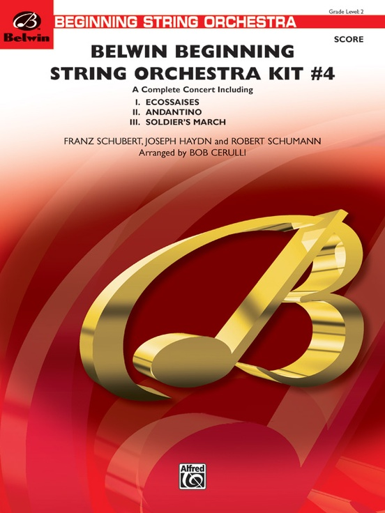 Belwin Beginning String Orchestra Kit #4