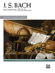 Six Partitas, BWV 825--830