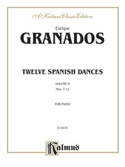 Twelve Spanish Dances, Volume II
