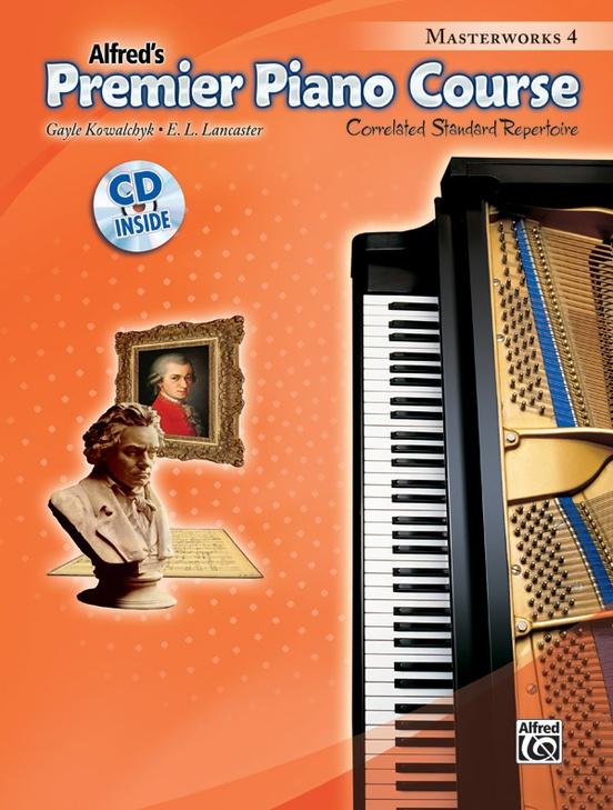 Premier Piano Course, Masterworks 4